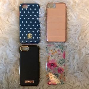 Bundle of 4 IPhone 7&8 Cases